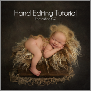 Shhh Baby Bear Sleeping.... Newborn Editing Tutorial | Photoshop Class