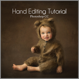 Fine Art Studio Teddy Sitter Baby Editing Tutorial | Photoshop Class