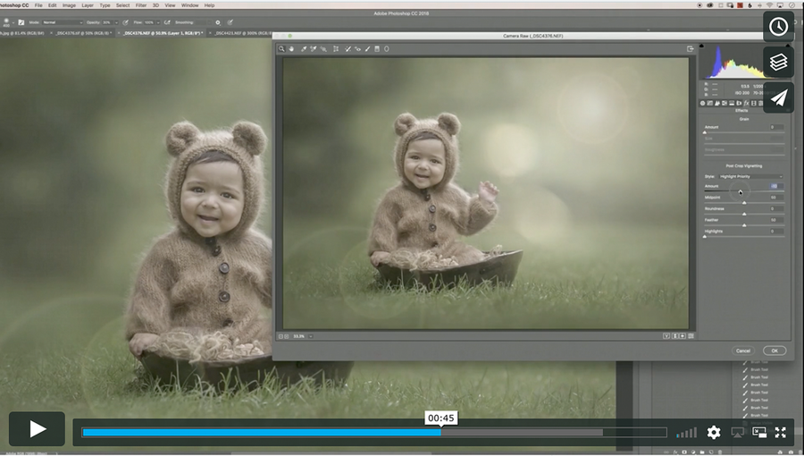 Outdoor Bokeh Editing Tutorial | Photoshop Class - Dream Artsy Actions Tutorials