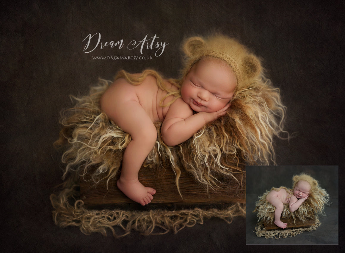 Shhh Baby Bear Sleeping.... Newborn Editing Tutorial | Photoshop Class - Dream Artsy Actions Tutorials