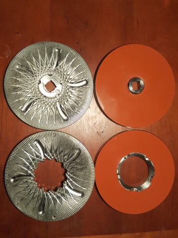 Flour and dehull plates for Grainmaker