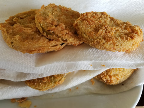 Fried Green Tomatoes from Indiana Red Tomato