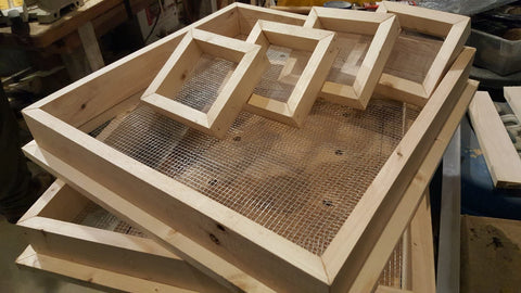 Seed Drying Trays - PICK-UP ONLY