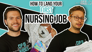 How to land your first nursing job