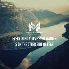 Fear is on the other side of what you want.