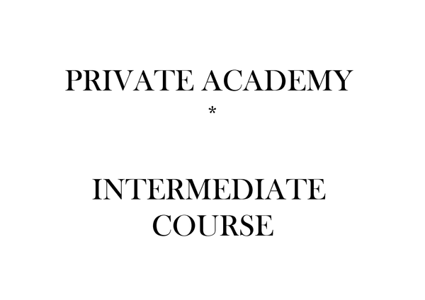 Intermediate Private Course