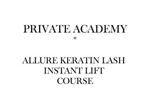 A'Purabelle Keratin Lash Lift Private Course