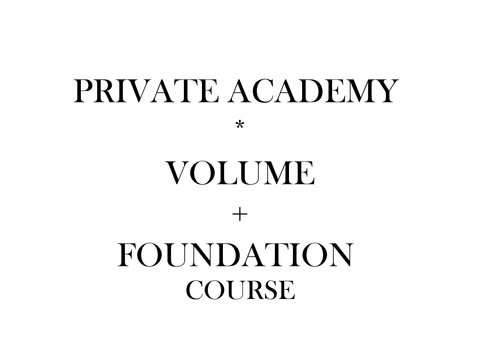 Foundation + Volume Private Course