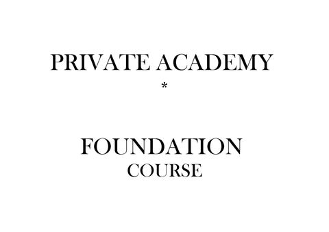 Foundation Private Course