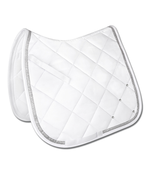 Waldhausen Dressage Saddlepad Competition White