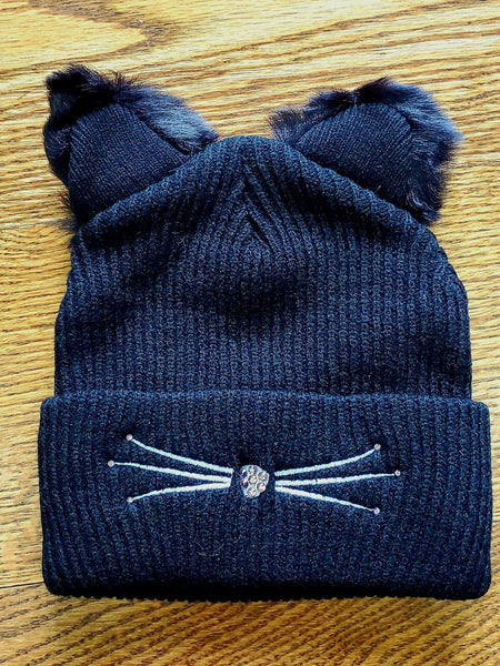 NEW! Fabulous Cat Hat in Pink Bling