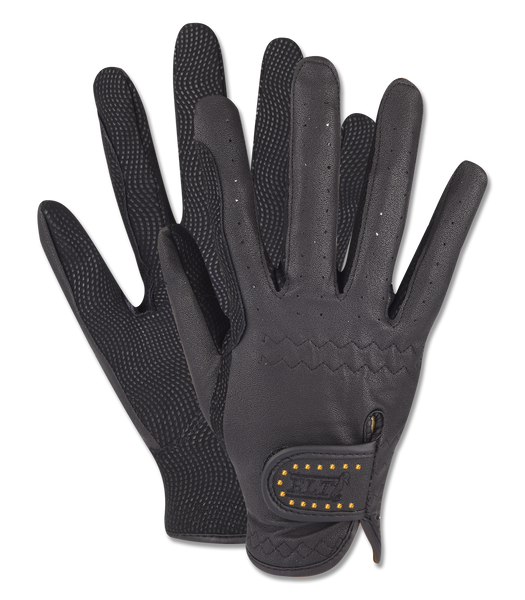 Allrounder Gold Bling Winter Riding Gloves