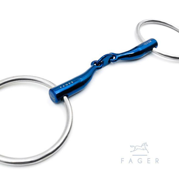 Fager Carl Titanium Loose Rings