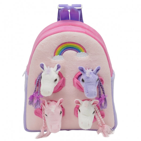 NEW! Rainbow Horses Backpack