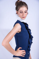Gemma Technical Lycra Blouse by For Horses (More Colors)!