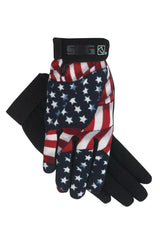 SSG All Weather Riding Glove - Stars & Stripes - Fabulous Horse