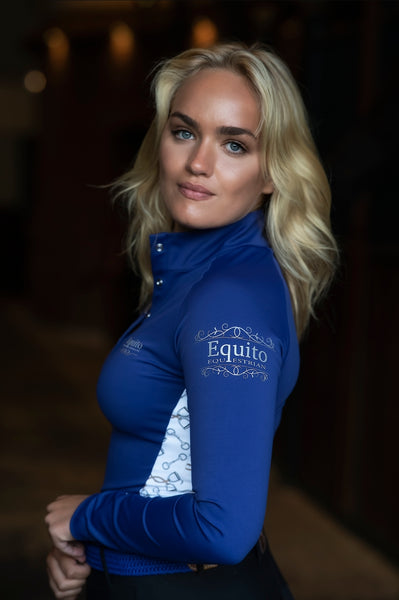 NEW! Equito Base Layer Shirt- Royal Blue