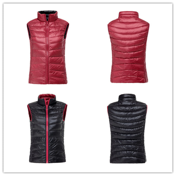 ZSherelli Reversible Down Vest Red/Black