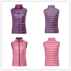ZSherelli Reversible Down Vest Pink/Purple