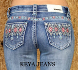 Bootcut Jeans Aztec Diamonds