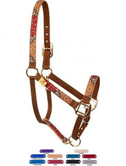 Personalized Name Rodeo High Fashion Horse Halter