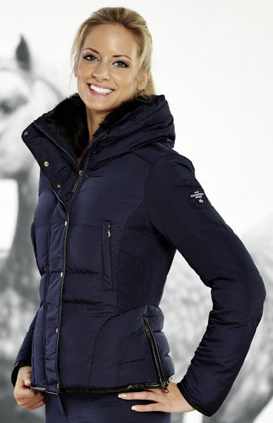 NEW! Pfiff Quilted Navy Jacket