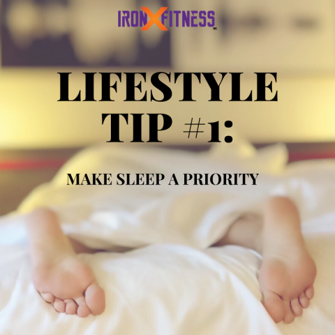 Lifestyle Tip #1 Make Sleep a Priority
