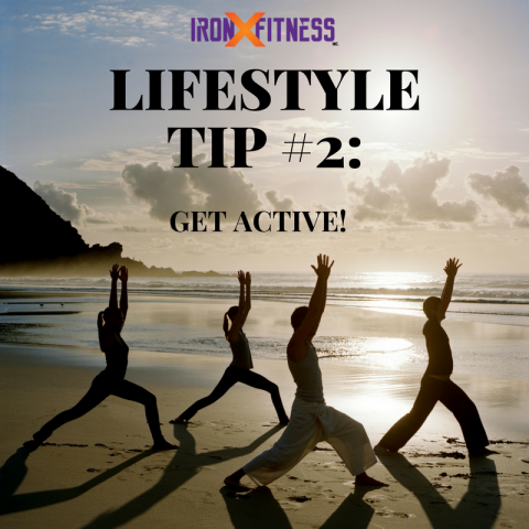 Lifestyle Tip #2 Get Active!
