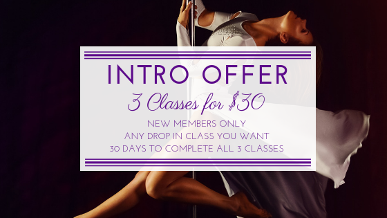 Intro Offer for Kettlebell, Yoga Tune up, Pole Dance for Fitness, Be Flexy, HardCORE at Iron X Fitness in Ottawa