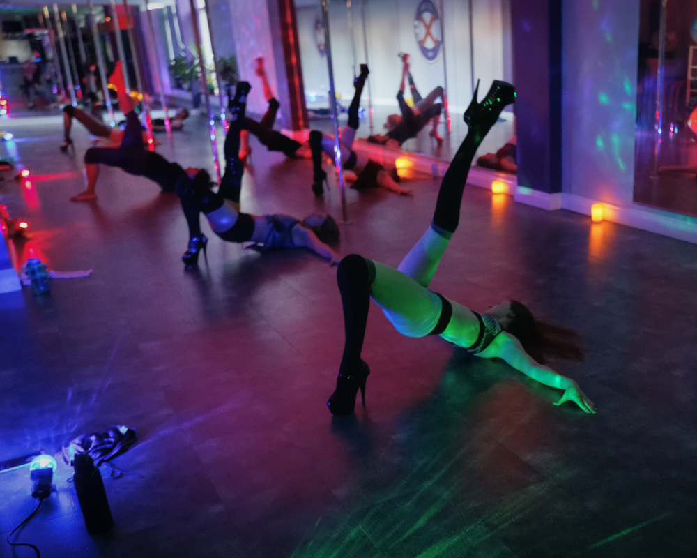 After Dark Series Pole Dance, Chair Dance, Lap Dance, Flirty Floor, Flirty Pole at Iron X Fitness Ottawa