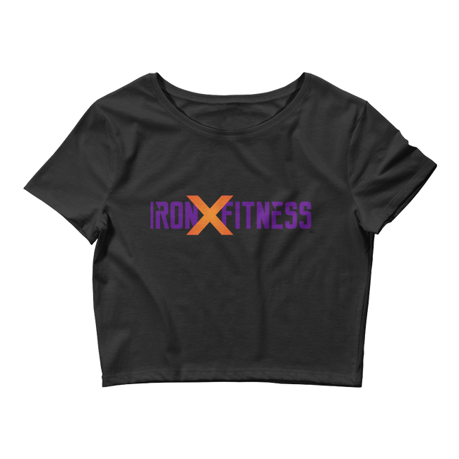 IRON X FITNESS Women's Crop Tee