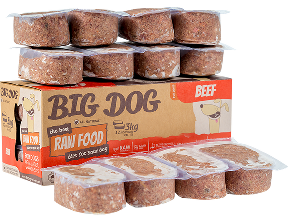 Big Dog Pet Foods - Dog Range