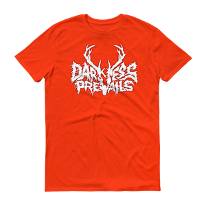 Darkness Prevails WHITE Metal Tee