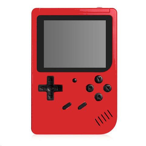 Caldecott Retro Portable Mini Handheld Game Console 8-Bit 3.0 Inch Color LCD Kids Color Game Player Built-in 400 games For Kids