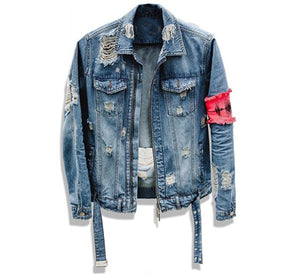 Broken Denim Jacket