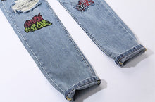 Horror Show Ripped Jeans