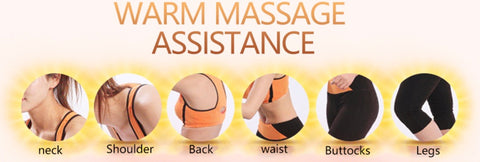 Electrical Shiatsu Back-Neck-Shoulder Massage