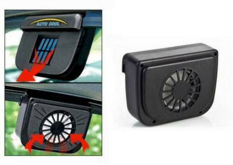 Solar automatic car cooler fan \ smartcooldeals.com