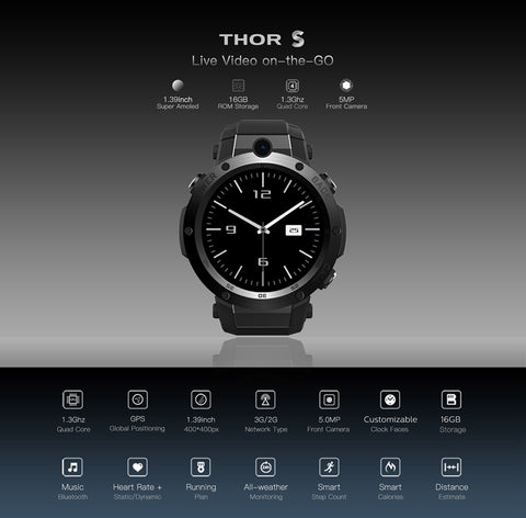 Thor S edition smartwatch