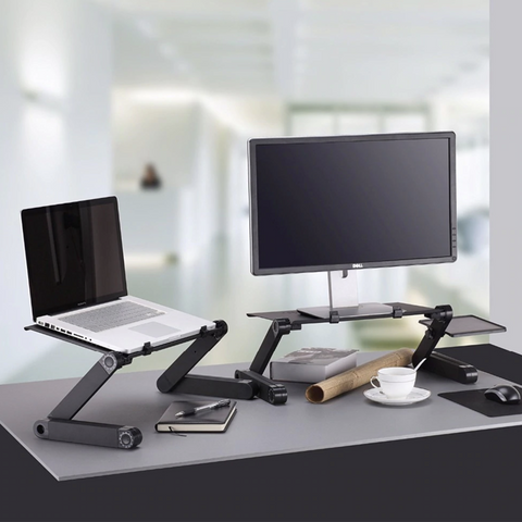 Adjustable Ergonomic Portable Desk Stand