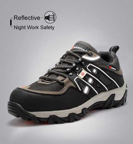 Reflective working shoes
