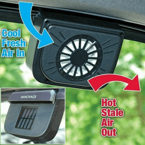 Easy to install solar Automatic Car Cooler, best affordable price at smartcooldeals
