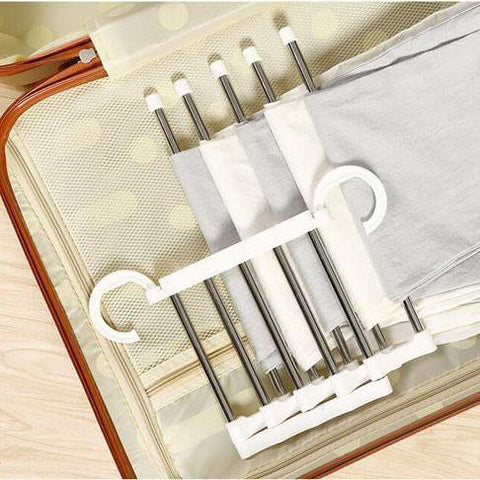 Image of Stainless_Steel_Adjustable_Closet_Organizer