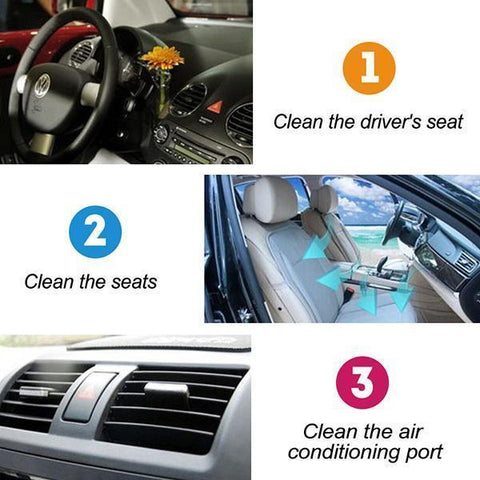 Image of high pressure car interior cleaner | multiple uses