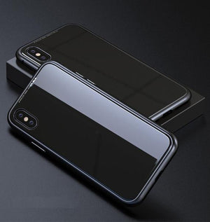 Black Ultra Slim Magnetic Anti-Shock Case