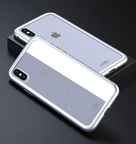 Silver clear Ultra Slim Magnetic Anti-Shock Case