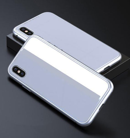 Full silver Ultra Slim Magnetic Anti-Shock Case