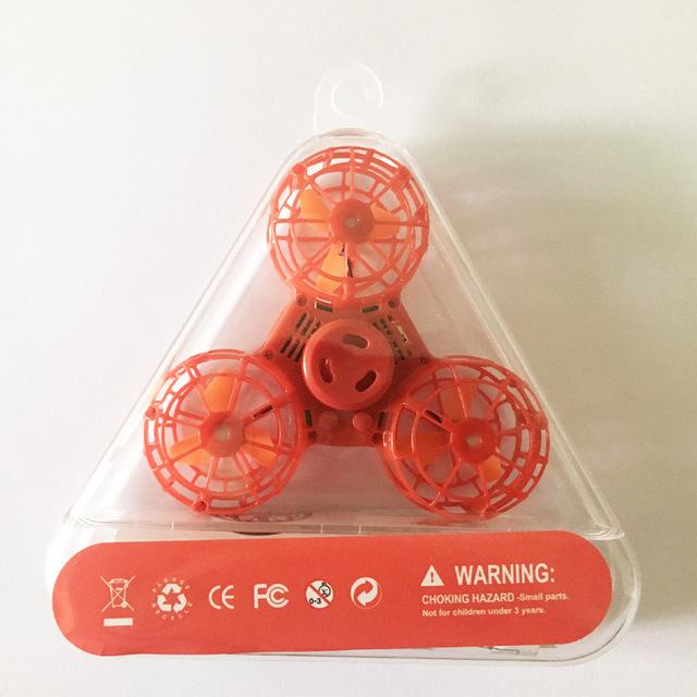 Red Flying Fidget Spinner