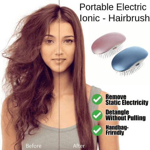 Image of Portable Ionic Hairbrush