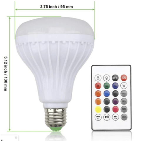 Image of E27 Led bulb 12watt RGB for best deal shop smartcooldeals.com